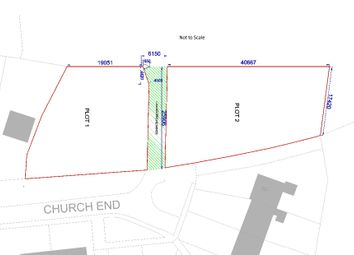 Thumbnail Land for sale in Church End, Arrington, Royston