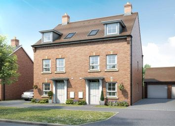 "Thumbnail 3 bed semi-detached house for sale in ""Padstow"" at Armstrongs Fields, Broughton, Aylesbury"