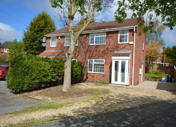 Thumbnail 3 bed semi-detached house for sale in Clover Close, Narborough