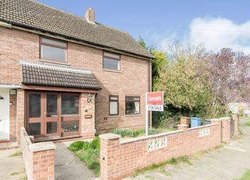 Thumbnail 3 bed semi-detached house for sale in Cavan Road, Ipswich