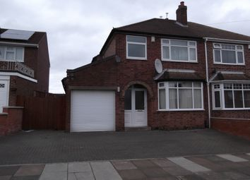 Thumbnail 3 bed semi-detached house to rent in Avebury Avenue, Leicester
