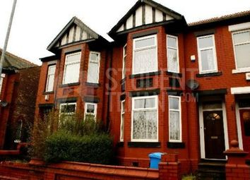 Thumbnail 5 bed detached house to rent in Langdale Road, Manchester, Greater Manchester