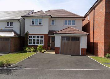 Thumbnail 4 bed detached house for sale in Gerddir Afon, Brynmenyn, Bridgend.