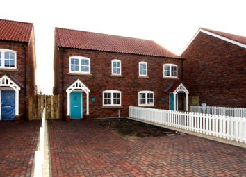 Thumbnail 3 bed semi-detached house for sale in 9 Rudds Green, Station Road, Nafferton, Driffield