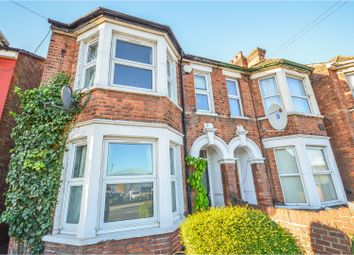 Thumbnail 3 bed end terrace house for sale in London Road, Bedford