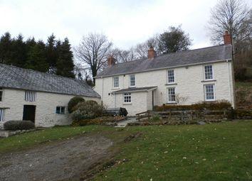 Thumbnail 3 bed farmhouse for sale in Ffarmers, Llanwrda