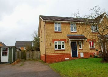 Thumbnail 3 bedroom end terrace house for sale in Touraine Close, Duston, Northampton