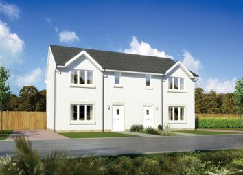 "Thumbnail 3 bedroom semi-detached house for sale in ""Caplewood"" at Earl Matthew Avenue, Arbroath"