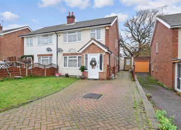 4 bed semi-detached house for sale in Phelps Close, West Kingsdown, Sevenoaks, Kent TN15