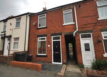 Thumbnail 2 bed terraced house to rent in Grove Street, Hasland, Chesterfield