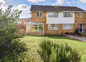 Thumbnail 3 bed semi-detached house for sale in St. Marks Close, Whitstable