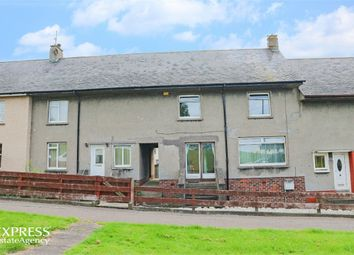 Thumbnail 2 bed terraced house for sale in Mote Hill Road, Girvan, South Ayrshire