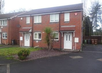 Thumbnail 2 bedroom property to rent in Usk Close, Bloxwich, Walsall