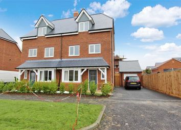 Thumbnail 4 bed semi-detached house to rent in William Morris Way, Swindon, Wiltshire