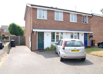 Thumbnail 2 bed semi-detached house for sale in Caernarvon Close, Stretton, Burton-On-Trent, Staffordshire