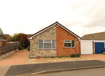 Thumbnail 3 bed detached bungalow for sale in Conifer Close, Lutterworth