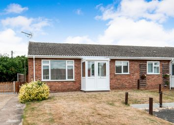 Thumbnail 2 bed semi-detached bungalow for sale in Boundary Road, Hockwold, Thetford
