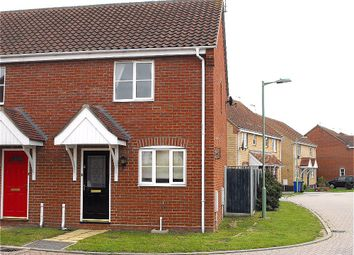 Thumbnail 2 bed semi-detached house to rent in Keel Close, Carlton Colville, Lowestoft