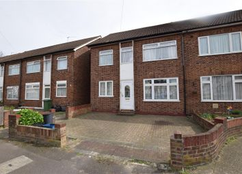 Thumbnail 2 bed maisonette for sale in Edgar Road, Chadwell Heath, Romford