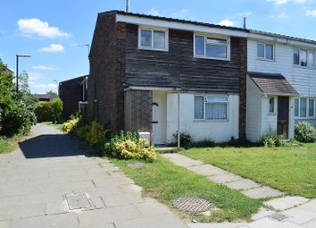 Thumbnail 3 bed end terrace house to rent in Padstow Walk, Crawley, West Sussex.