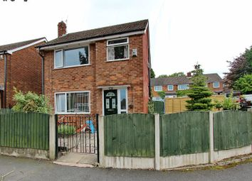 Thumbnail 3 bed detached house for sale in Peveril Close, Whitefield, Manchester
