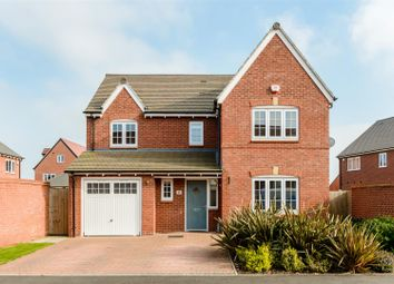 Thumbnail 4 bed detached house for sale in Thomas Hardy Way, Warwick, Warwickshire