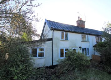 Thumbnail 2 bed semi-detached house for sale in 3 Chapel Lane, Stoke Ash, Eye, Suffolk