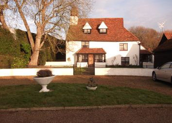 Thumbnail 5 bed farmhouse for sale in Nazeing Road, Waltham Abbey