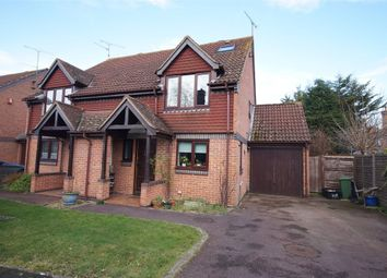 Thumbnail 3 bedroom semi-detached house for sale in Winston Close, Spencers Wood, Reading, Berkshire