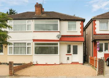 Thumbnail 3 bed semi-detached house for sale in Wood End Way, Northolt