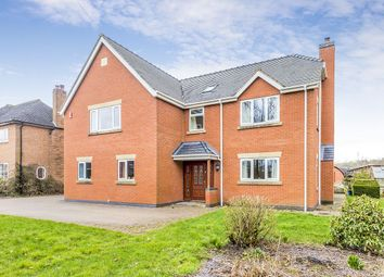 Thumbnail 6 bed detached house for sale in Old Road, Barlaston, Stoke-On-Trent