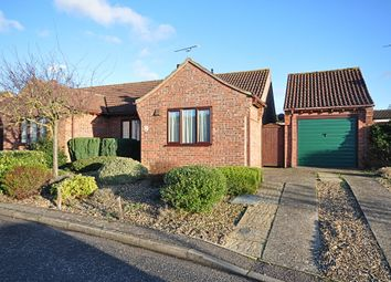 Thumbnail 2 bed semi-detached bungalow for sale in Brewsters, East Harling, Norwich
