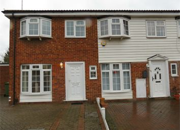 Thumbnail 3 bed end terrace house to rent in Whitehouse Avenue, Borehamwood, Hertfordshire