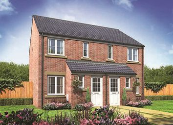 "Thumbnail 2 bedroom terraced house for sale in ""The Askham"" at Bawtry Road, Bessacarr, Doncaster"