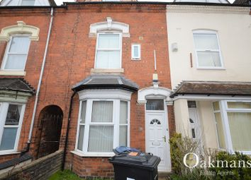 Thumbnail 6 bedroom terraced house for sale in Harrow Road, Birmingham, West Midlands.