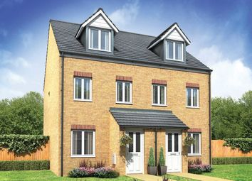 "Thumbnail 3 bedroom semi-detached house for sale in ""The Souter"" at Swainston Close, Middlesbrough"