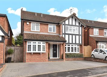 Thumbnail 4 bedroom detached house for sale in Deanacre Close, Chalfont St. Peter, Gerrards Cross