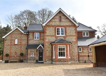 Thumbnail 5 bed detached house for sale in Avenue Road, Fleet, Hampshire