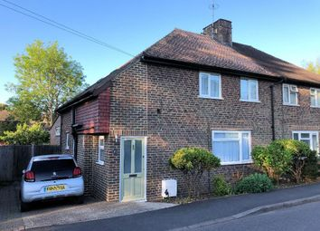 Thumbnail 3 bed semi-detached house for sale in Thornscroft, Steyning, West Sussex