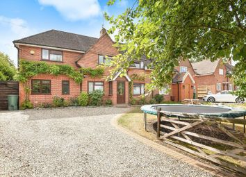 Thumbnail 5 bed semi-detached house for sale in Theale Road, Burghfield, Reading