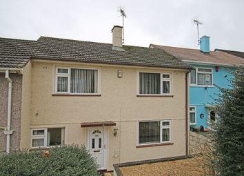 Thumbnail 3 bed terraced house for sale in St Peters Road, Manadon, Plymouth.