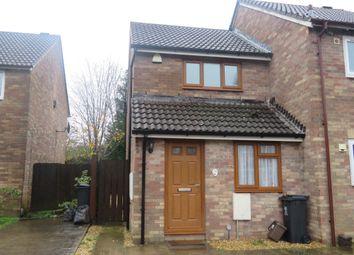 Thumbnail 2 bedroom end terrace house for sale in Horwood Close, Splott, Cardiff