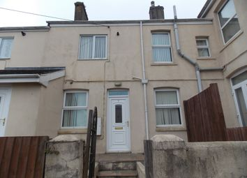 Thumbnail 1 bed terraced house to rent in Alexandra Road, St Austell, Cornwall