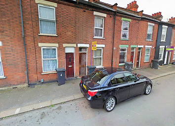 Thumbnail 2 bed terraced house to rent in Wimborne Road, Luton