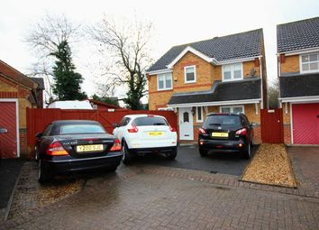 Thumbnail 5 bedroom detached house for sale in Holliday Close, Abbey Meads, Swindon