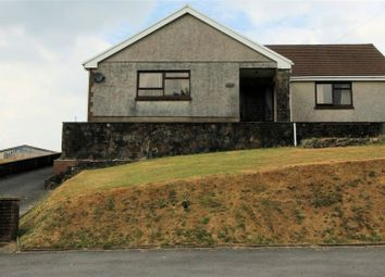 Thumbnail 4 bed detached bungalow for sale in Myrtle Hill, Ponthenry, Llanelli, Carmarthenshire