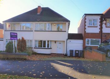 Thumbnail 3 bed semi-detached house for sale in Wychall Road, Birmingham