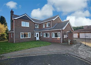 Thumbnail 4 bed detached house for sale in Mount Royale Close, Ulceby, Lincolnshire