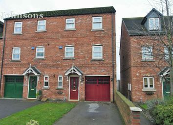 Thumbnail 4 bed end terrace house for sale in St Edwin Reach, Dunscroft, Doncaster.