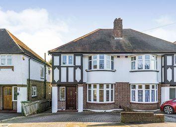 Pembroke Avenue, Surbiton, Surrey KT5. 3 bed semi-detached house